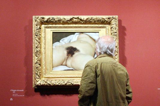 """""""L'Origine du monde"""", de Gustave Courbet"""