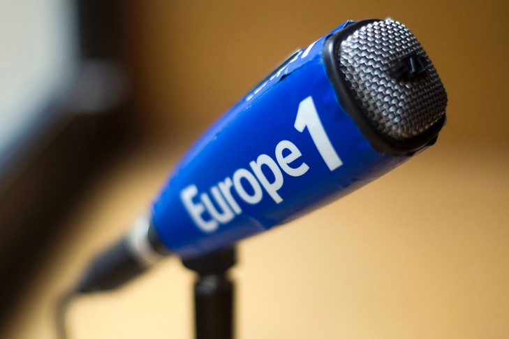Interview à la radio Europe 1